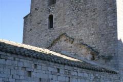 31 Dettaglio del livello del vecchio tetto