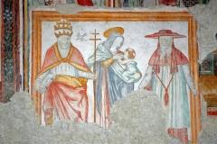 76 Madonna del latte tra San Gregorio Magno e San Girolamo