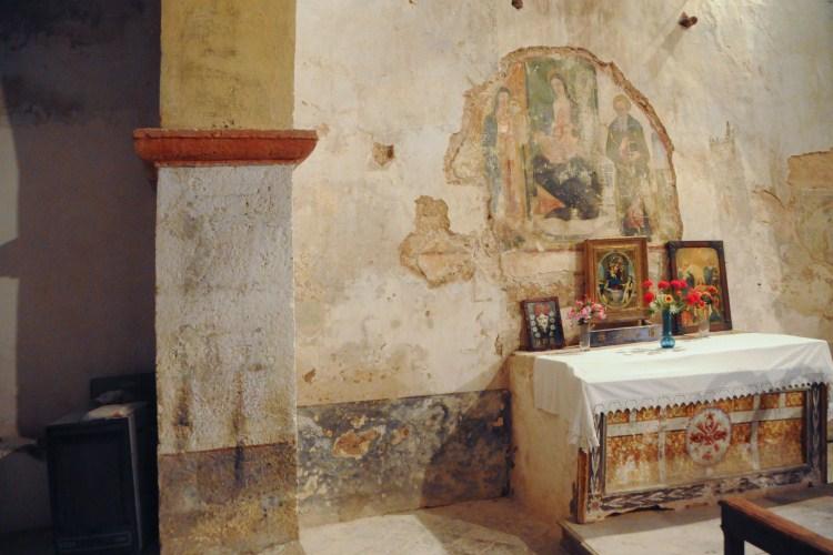 Chiesa di sant antonio abate capo del colle ancarano for Piccola casa di merluzzo del capo