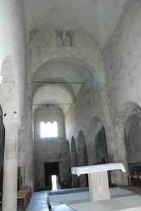 Particolare della navata