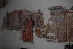 45a Affreschi della parete opposta all'altare