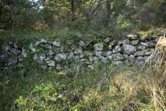 05 Muretto dell'antica strada per Spoleto