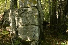 30 Dettaglio del podio del tempio