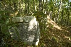 33 Dettaglio del podio del tempio