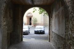 Porta sud dall'interno