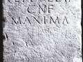 52 Cippo funerario di epoca romana (I secolo a. C.)
