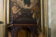 68p Madonna col Bambino tra San Giovanni Battista e un Santo Papa
