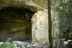 07 Resti del muro destro e ingresso