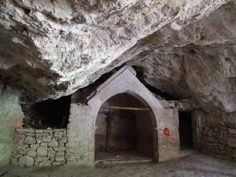 Eremo delle Grotte dei Frati - Gole del Fiastrone di Fiastra (MC)