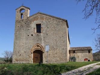 Chiesa di S. Angelo in Piano - Carassai (AP)