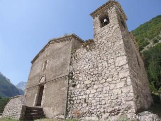 chiesa di san bartolomeo a foce - montemonaco 07