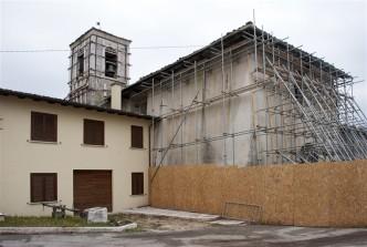30 Chiesa di San Procolo dopo il terremoto del 2016